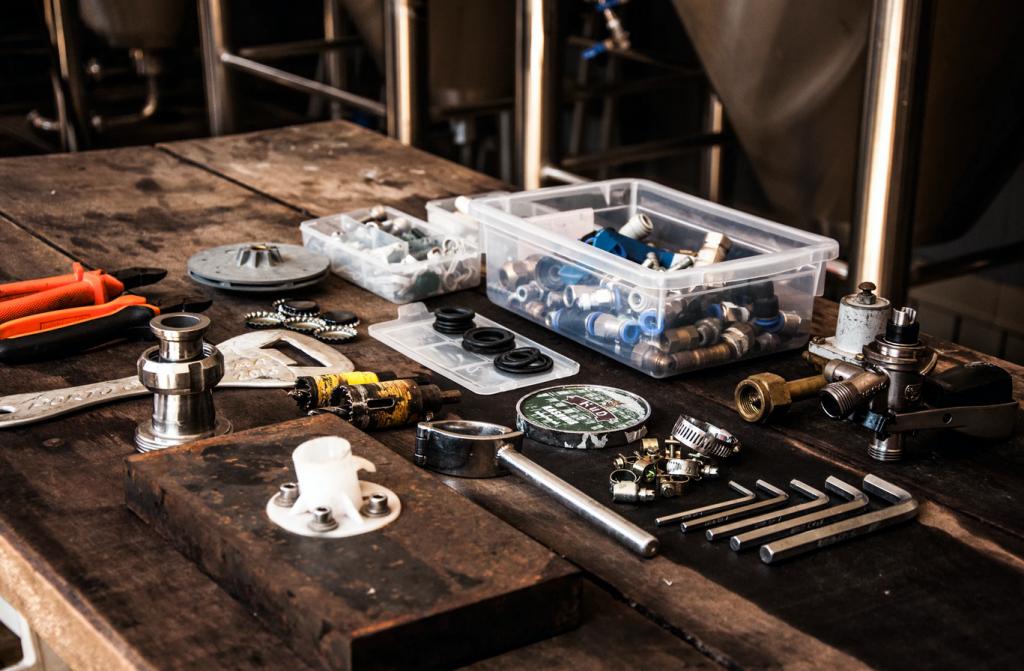 narzędzia do serwisowania